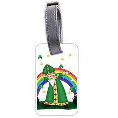 St  Patrick  Dabbing Luggage Tags (two Sides)