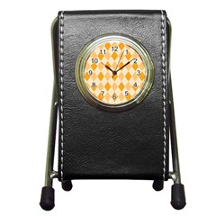 Argyle 909253 960 720 Pen Holder Desk Clocks